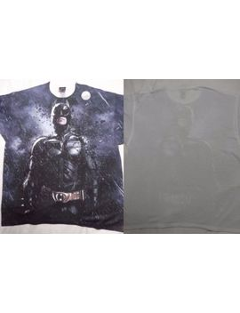 Batman Dark Knight Rises Stormy Knight Front Only Sublimation Print T Shirt Xxl by Batman
