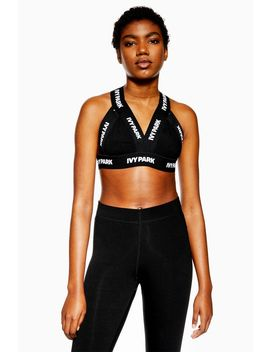 Logo Tape Triangle Bra By Ivy Park by Topshop