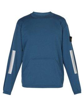 Kangaroo Pocket Cotton Sweatshirt by Stone Island