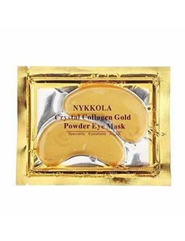 Nykkola Multi Pairs Gold Eye Mask Powder Crystal Gel Collagen Eye Pads For Anti Aging &... by Nykkola