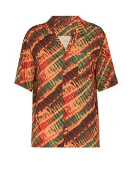 Tie Dye Print Shirt by Missoni