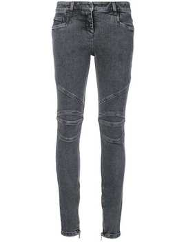 Skinny Fitted Jeans by Balmain