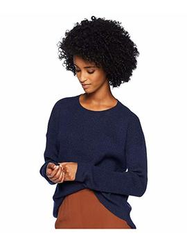 Italian Cashmere Round Neck Box Top by Eileen Fisher