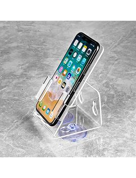 Hunpta@ 1 Pc Durable Bathtub Shower Cell Phone Stand Holder With Strong Suction Cups (Clear) by Hunpta@
