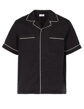 Cameron Short Sleeved Bowling Shirt by Saturdays Nyc