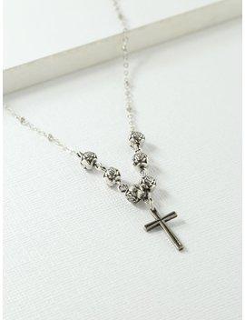 The Celine Cross Necklace by Vanessa Mooney