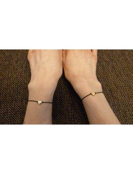 Bracelet Woman Heart   Bracelet Women   Silver Or Gold Coloured   Fine Thin Fancy   Many Colours Available by Etsy