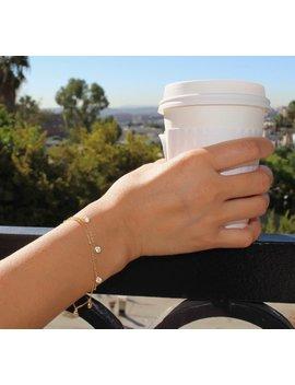 Small Diamond Bracelet, Dainty Bracelet Set, Layered Bracelet, Cubic Zirconia Bracelet, Dainty Cz Bracelet, Bridesmaid Gift, Dainty Bracelet by Etsy