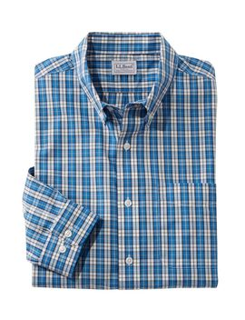 Wrinkle Free Vacationland Sport Shirt, Traditional Fit Plaid by L.L.Bean