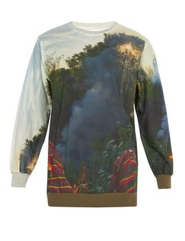 Holiday Fire Cotton Sweatshirt by Bless