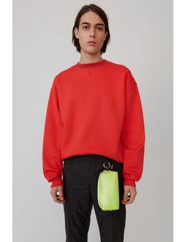 Iconic Sweatshirt Cherry Red by Acne Studios