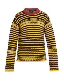 Striped Wool Sweater by Calvin Klein 205 W39 Nyc