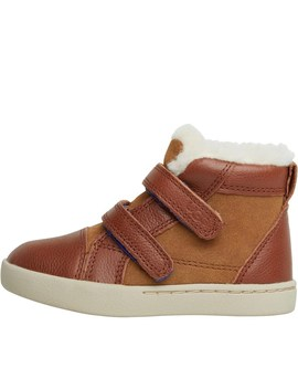 Ugg Infant Boys Rennon Hi Tops Chestnut by Ugg