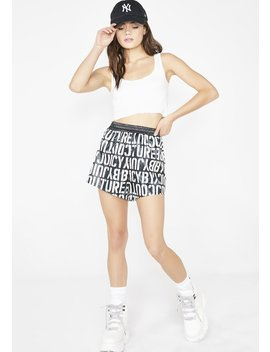 Stencil Juicy Logo Shorts by Juicy Couture
