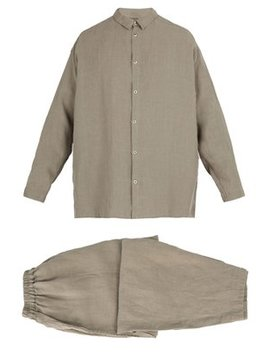 X Toogood Linen Pyjama Set by Once Milano