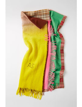 Limited Edition Blanket Multicolor by Acne Studios