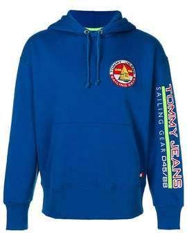 Logo Patch Hoodie by Tommy Jeans