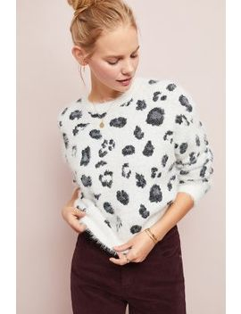 Cozy Leopard Sweater by Cupcakes And Cashmere
