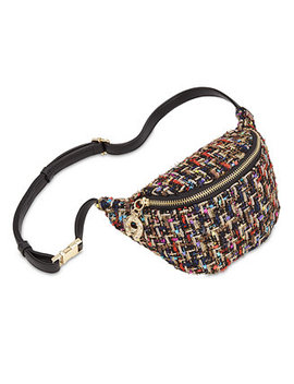 Plaid Get Waisted Fanny Pack by Betsey Johnson