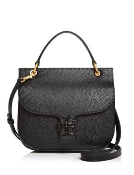 Mc Graw Leather Satchel by Tory Burch