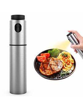 100ml Food Grade Stainless Steel Refillable Olive Oil Sprayer For Cooking, Bbq, Grilling And Roasting, Salad Oil Dressing, Cooking Wine & Vinegar Sprayer by Xiong Chao