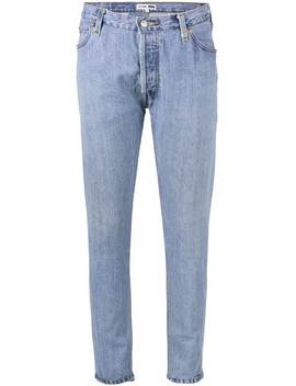 Levi's Blue High Waisted Skinny Jeans by Re/Done