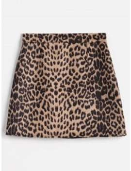 Leopard Bodycon Skirt   Leopard Xl by Zaful