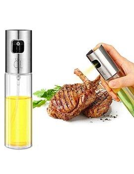 Oil Sprayer,Olive Oil Spray Bottle Oil Dispenser Vinegar Bottle For Kitchen Cooking/Frying/ Salad/Baking/Bbq by Zophen
