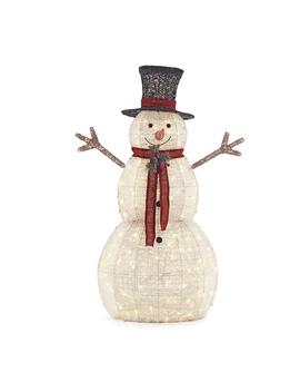 5 Ft. Pre Lit Snowman With Hat by Home Accents Holiday