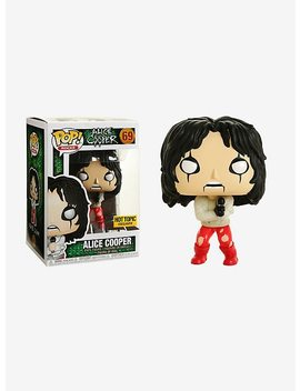 Funko Pop! Rocks Alice Cooper Straightjacket Vinyl Figure Hot Topic Exclusive by Hot Topic
