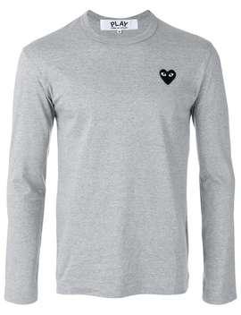 T Shirt Met Lange Mouwen by Comme Des Garçons Play