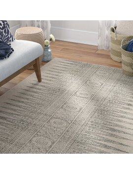 Mistana Elson Ivory/Silver Area Rug & Reviews by Mistana
