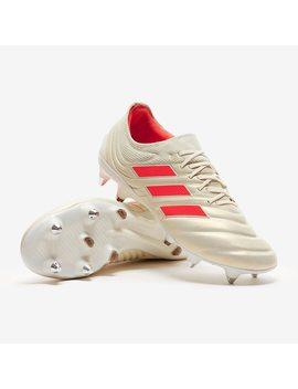 Adidas Copa 19.1 Sg   Grauweiß/Solar Rot/Schwarz by Pro Direct Soccer