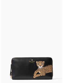 Run Wild Leopard Applique Lacey by Kate Spade