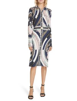 Crista Belted Shirtdress by Tory Burch