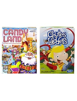 Hasbro Candyland And Chutes And Ladders Board Games by Hasbro