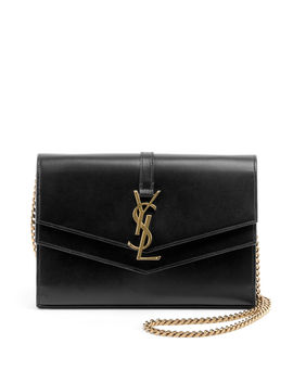 Sulpice Monogram Ysl V Flap Wallet On Chain by Saint Laurent