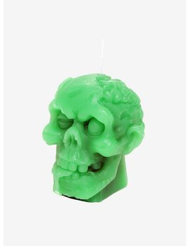 Zombie Head Candle by Hot Topic