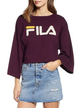Palmira Crop Sweater by Fila