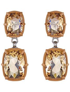 Atelier Swarovski By Rosie Assoulin, Jewel Y Mc Hue Y Drop Pierced Earrings by Swarovski