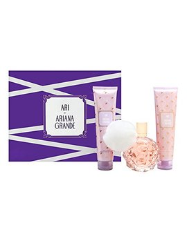 Ariana Grande Ari By Ariana Grande 3 Piece Gift Set   3.4 Oz Eau De Parfum Spray, 3.4 Oz Body Lotion, 3.4 Oz Bath And Sh by Ariana Grande
