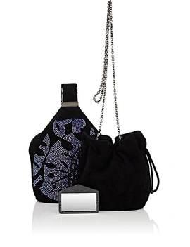 The Kit Suede Bracelet Bag by Bienen Davis