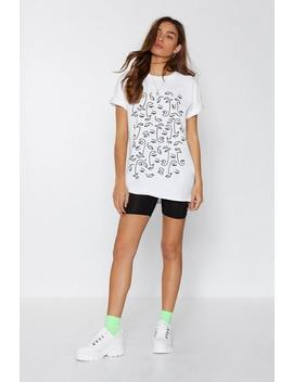 Can't Feel My Face Tee by Nasty Gal