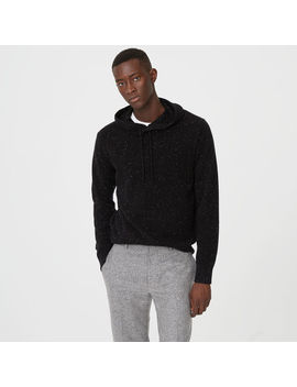 Cashmere Donegal Hoodie by Club Monaco