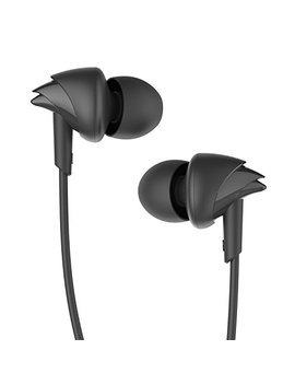 Bo At Bass Heads 100 In Ear Headphones With Mic (Black) by Boat