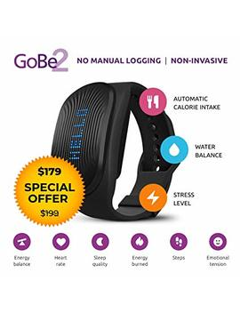 Healbe Go Be2 Wearable Wellness & Nutrition Tracker For Men And Women   Smart Heart Rate Monitor   Rem Sleep Tracker   Calorie Counter   Bluetooth Enabled by Healbe Go Be