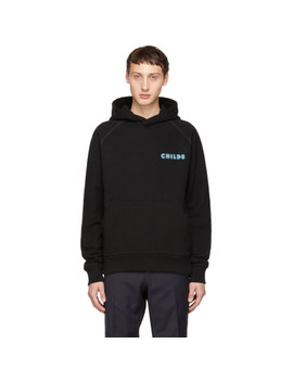 Ssense Exclusive Black Graphic Hoodie by Childs