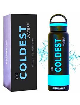 The Coldest Water Bottle Vacuum Insulated Stainless Steel Hydro Travel Mug   Ice Cold Up To 36 Hrs/Hot 13 Hrs Double Walled Flask Strong Cap by The Coldest Water
