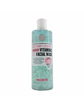 Soap And Glory Face Soap And Clarity 3 In 1 Daily Detox Vitamin C Facial Wash 350ml by Soap And Glory