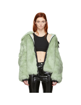 Reversible Green Ambush Edition Nrc Ca Jacket by Nikelab